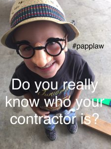 Who is your contractor